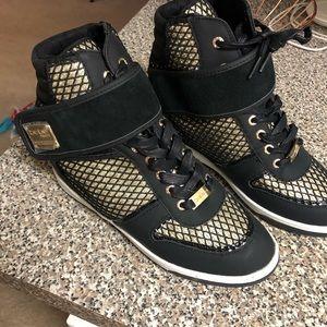 Bebe wedge sneakers BRAND NEW